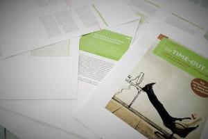 """Das Buch """"Die Time-out-Taktik"""" geht auf die Reise"""
