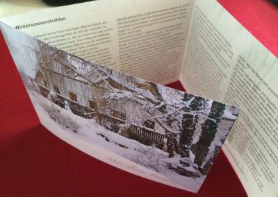 Kurzgeschichte Landhofmühle, Wintersonnenstrahlen
