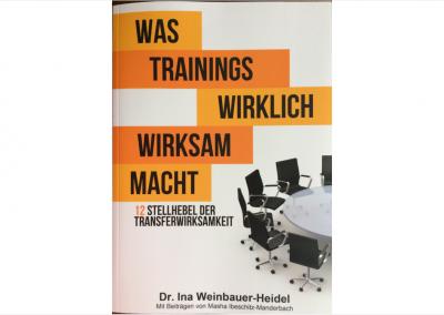 Weinbauer-Heidel: Was Trainings wirklich wirksam macht