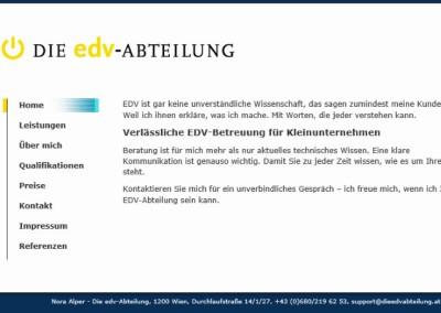Webtexte: www.dieedvabteilung.at