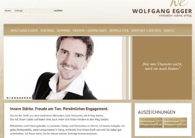 Webtexte: www.wolfgangegger.com