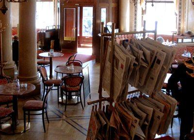 Im Kaffeehaus schreiben: Das literarische Wien von A bis Z