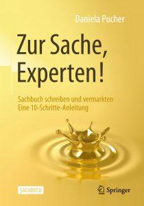 Zur Sache Experten - Cover Sachbuch schreiben und vermarkten