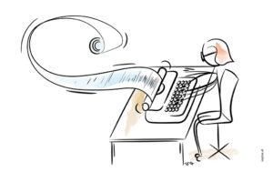 Quick & Dirty: Die beste aller Schreibstrategien